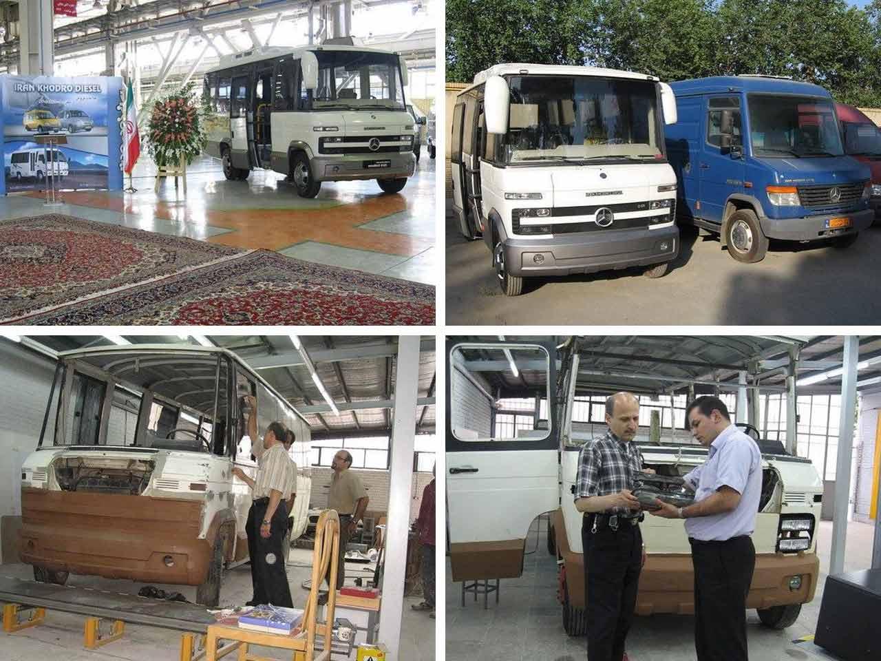 ایران خودرو دیزل مینی بوس OMG511